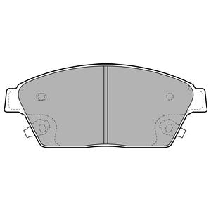 Колодки дисковые, DELPHI, LP2170