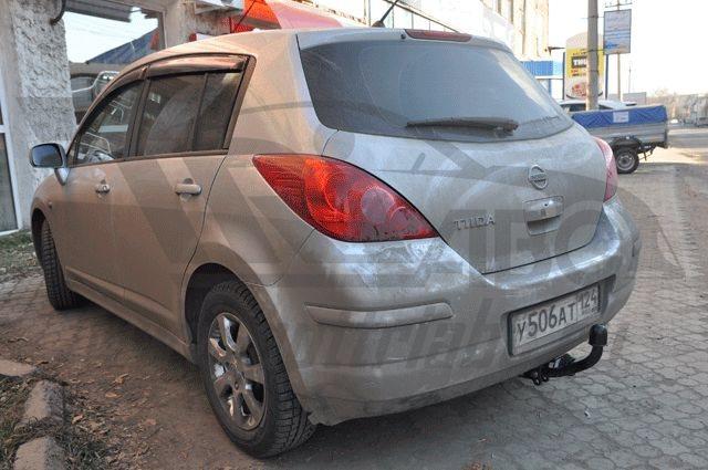 Фаркоп для Nissan Tiida (Ниссан Тиида) Хэтчбек, Sedan (2007-2014) ., BOSAL, 4362A