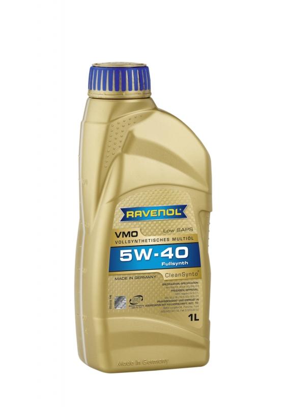 Моторное масло RAVENOL VMO, 5W-40, 1л, 4014835723818