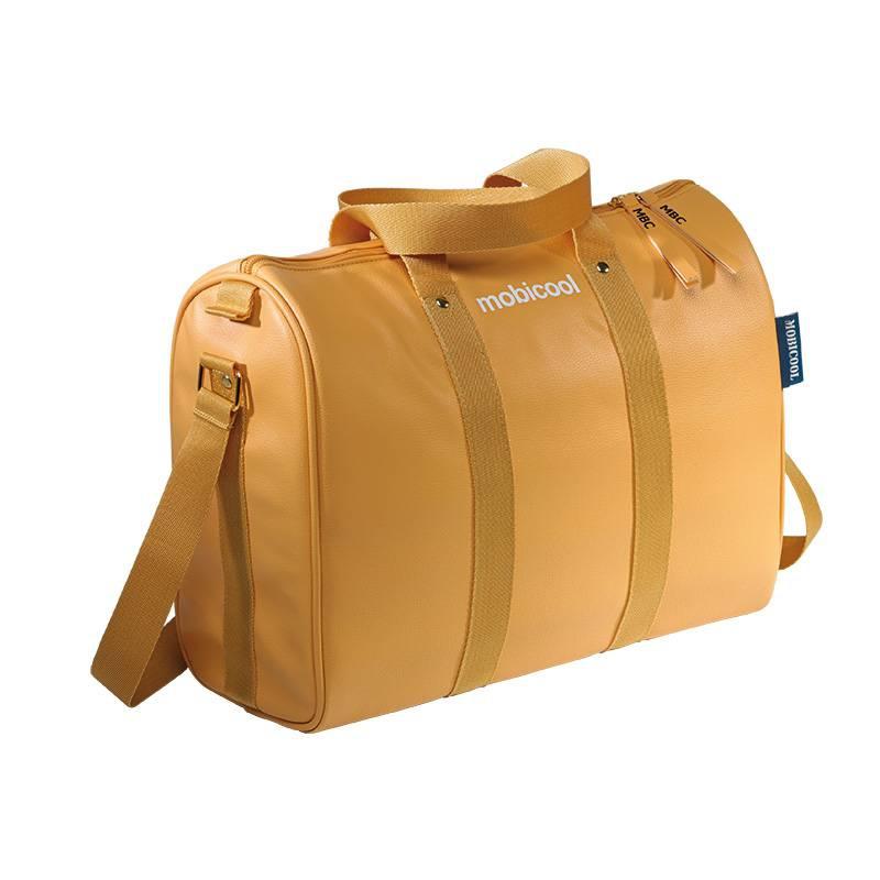 Изотермическая сумка MOBICOOL Icon 10, 10л., искусств. кожа, ручки, ремень, карман, 9103540160