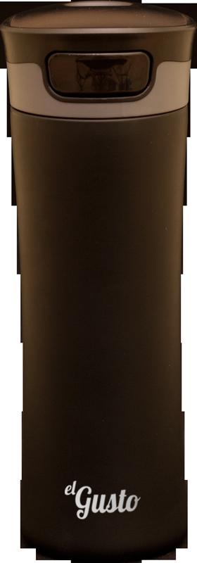 Термокружка el GUSTO Primavera, черная, 470 мл, 043BB
