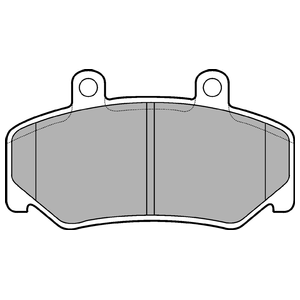 Колодки дисковые, DELPHI, LP643