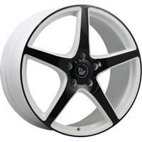 Колесный диск YST X-9 8x18/5x120 D65.1 ET30 белый+черный (W+B)