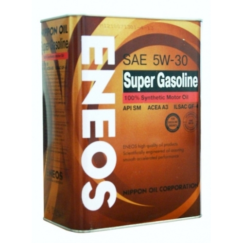 Моторное масло ENEOS SUPER GASOLINE SM, 5W-30, 0,94л, OIL4073