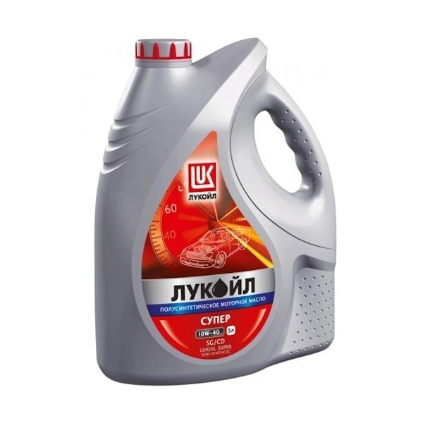 Моторное масло LUKOIL Супер, 10W-40, 5л, 19193