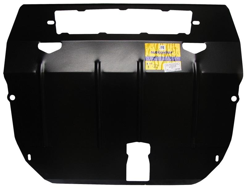 Защита картера двигателя, КПП Mazda CX7 2006- V= все (сталь 2 мм), MOTODOR01122