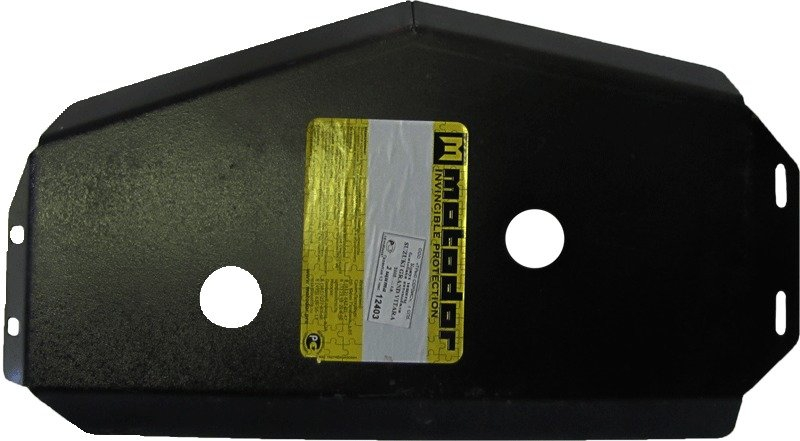Защита бензобака Suzuki Grand Vitara III 2005- V= все, из 2 частей(сталь 3 мм), MOTODOR12403