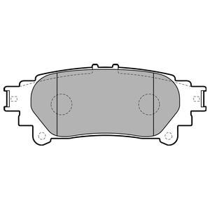 Колодки дисковые, DELPHI, LP2196