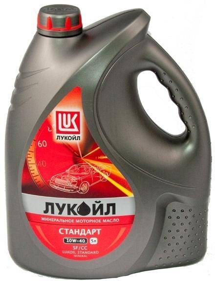 Моторное масло LUKOIL Стандарт, 10W-40, 5л, 19186