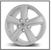 Колесный диск Fr replica 230 7x17/5x114,3 D71.6 ET45 серебро (S)