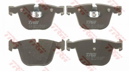 Колодки дисковые Задние, TRW, GDB1502
