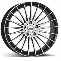 Колесный диск Aez Диск колёсный литой Valencia dark 9.5x19/5x112 D72.6 ET35 черный