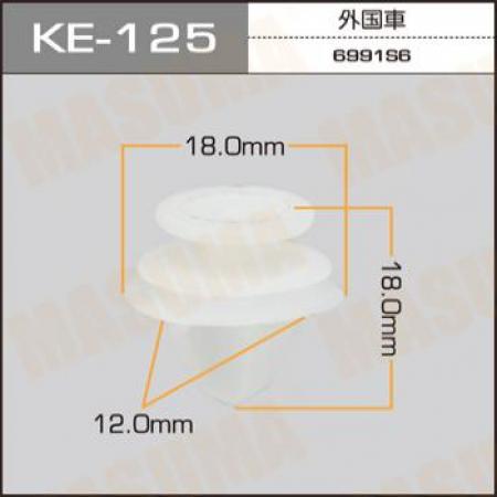 Клипса автомобильная (автокрепеж) MASUMA, KE125