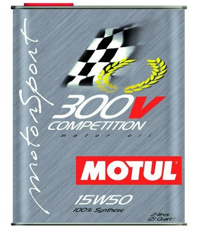 Моторное масло MOTUL 300V COMPETITION, 15W-50, 2л, 104244