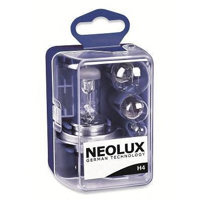 Лампа, 12 В, 60/55 Вт, H4, P43t, NEOLUX, N472