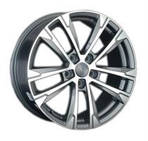 Колесный диск Ls Replica VW137 7.5x17/5x112 D74.1 ET47 серый матовый полированный (GMF)