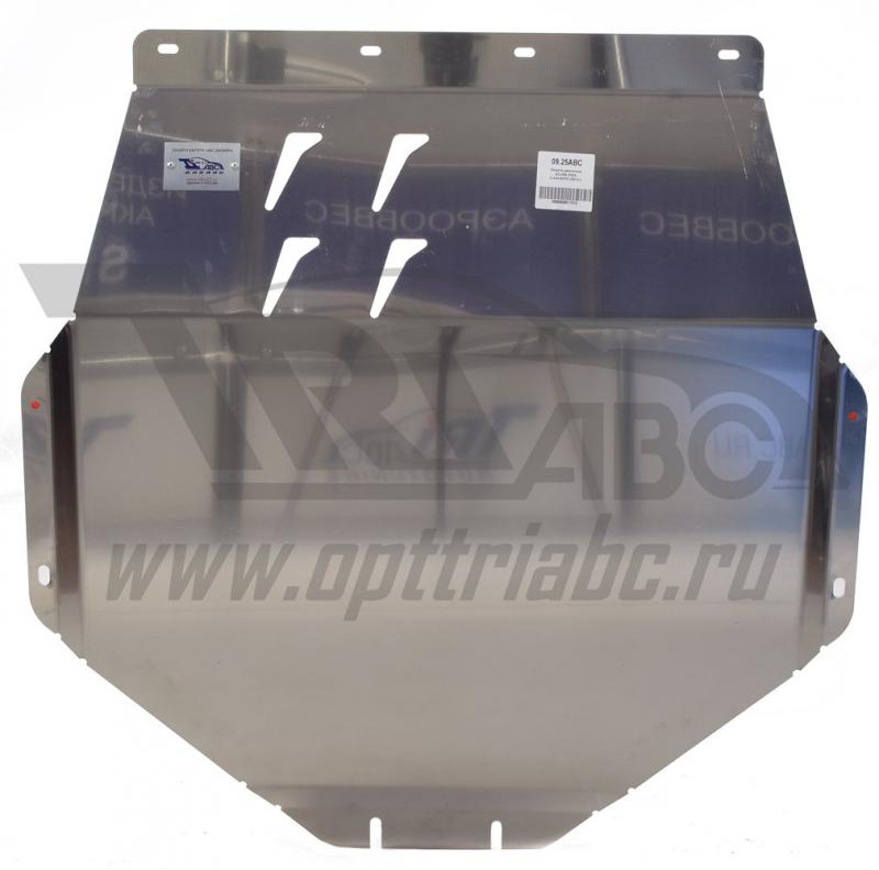 Защита картера двигателя и кпп Acura MDX V-3,5 АКПП (2014-) (Алюминий 4 мм), 0925ABC