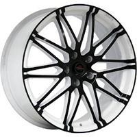 Колесный диск Yokatta MODEL-28 7x18/5x105 D58.6 ET38 белый +черный (W+B)