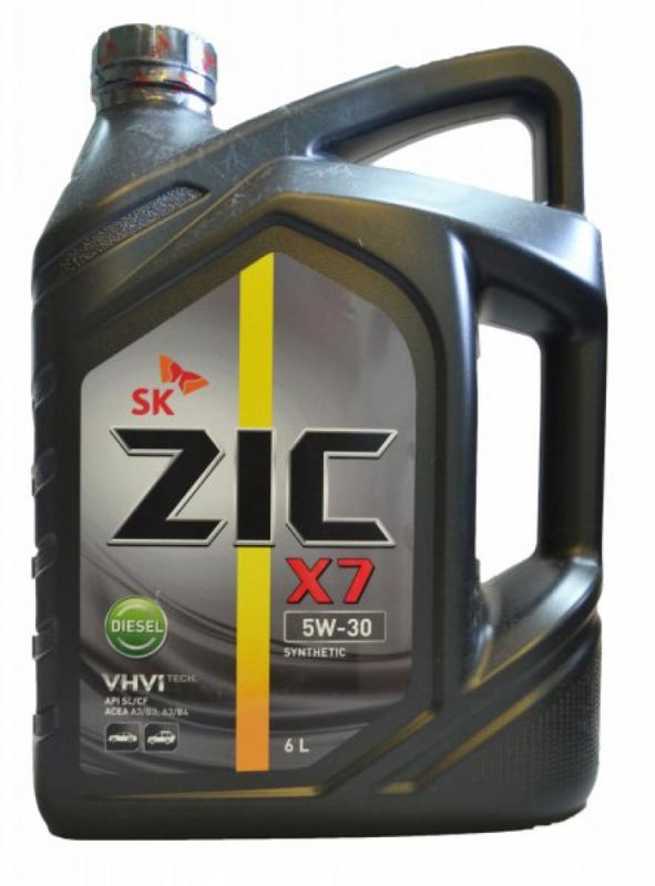 Масло моторное ZIC X7 Diesel 5W-30, 6л, 172610