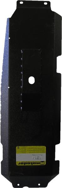 Защита бензобака (2 шт) УАЗ Patriot 2008- V= все (сталь 3 мм), MOTODOR16502