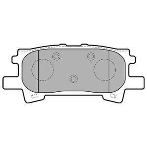 Колодки дисковые, DELPHI, LP1820