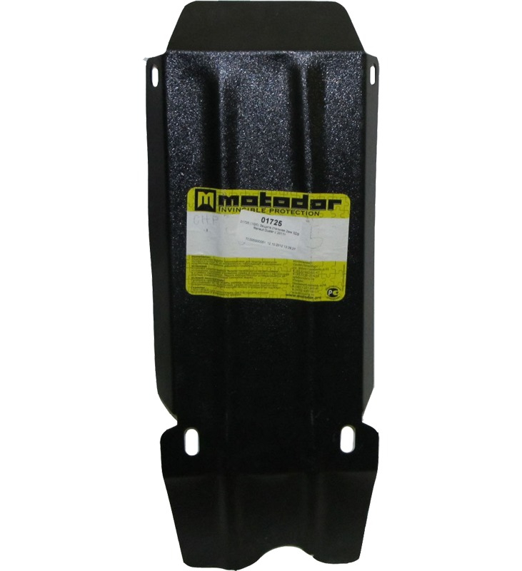 Защита картера ЗДФ Nissan Terrano 2014- Renault Duster 2011- V=1,6, 2,0i (сталь 2 мм), MOTODOR01725