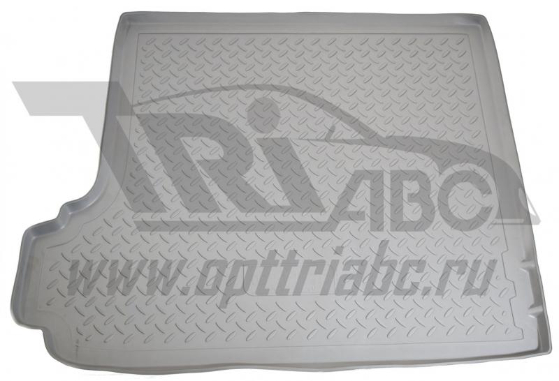 Коврик багажника для BMW X3 (2004-2010) (серый), NPLP0706GREY