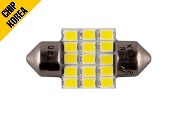 Лампа светодиодная салонная XENITE T11 (9-30V) (Яркость 280 Lm) упаковка 1шт., 1009342