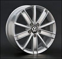Колесный диск Ls Replica VW33 7x17/5x112 D57.1 ET54 серебристый полированный (SF)