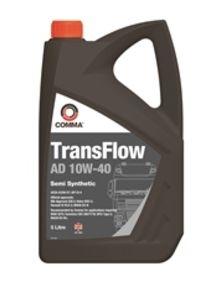 Моторное масло Comma TransFlow AD 10W40, 5л, TFAD5L