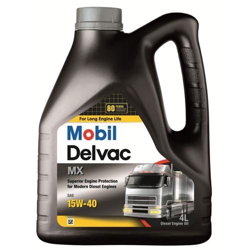 Моторное масло Mobil DELVAC MX, 15W-40, 4л