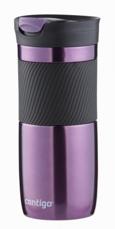 Вакуумная кружка Contigo Byron с удобным замком, фиолетовая, 470 мл, 10000330