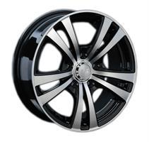 Колесный диск LS Wheels 141 6.5x15/5x114,3 D60.1 ET40 черный полированный (BKF)