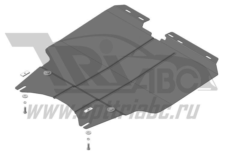 Защита картера двигателя, КПП Lifan X60 2012>, MOTODOR64703