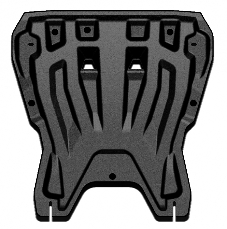 Защита картера двигателя и кпп Suzuki SX4 (2011-2013)/Swift (2011-) (Композит 8 мм), 2305K