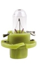 """Лампа """"Plastic base lamps"""", 12 В, 1,3 Вт, BAX, BX8,4d, NARVA, 17047"""