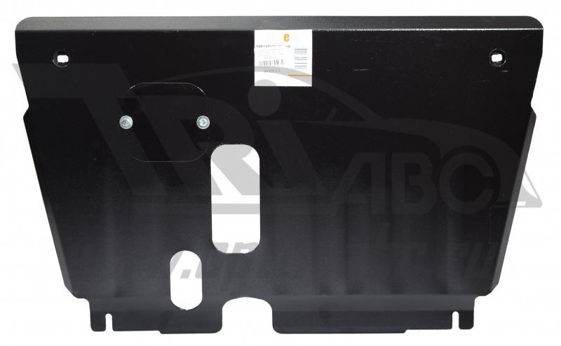Защита картера двигателя и кпп Toyota Yaris,V-все (2005-2011)(Сталь 1.8 мм), 09850C2