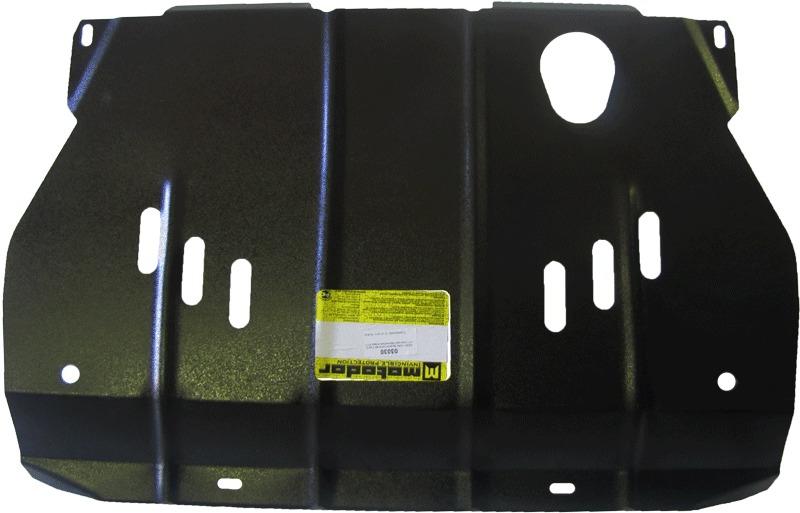 Защита картера двигателя, КПП Chevrolet Captiva 2012- Opel Antara 2012- V=2,4i (сталь 2 мм), MOTODOR