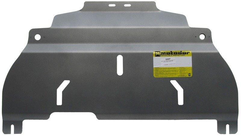 Защита картера двигателя, КПП Subaru Impreza III Sedan 2008-2012 V=2,5 (алюминий 5 мм), MOTODOR32227