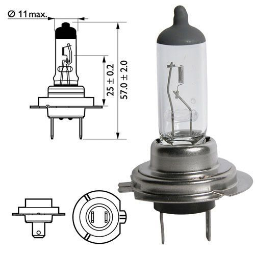 Лампа Minibox, 12 В, 4-55 Вт, H7, PX26d, BOSCH, 1 987 301 103