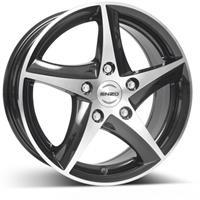 Колесный диск Enzo 111 dark 7x16/5x112 D60.1 ET35 черный полированный (BKF/P)