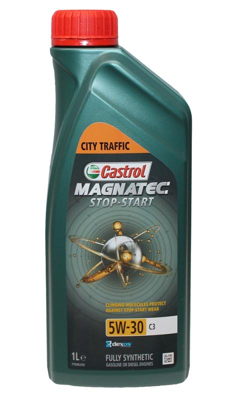 Моторное масло CASTROL Magnatec Stop-Start C3, 5W-30, 1л, 1572FA