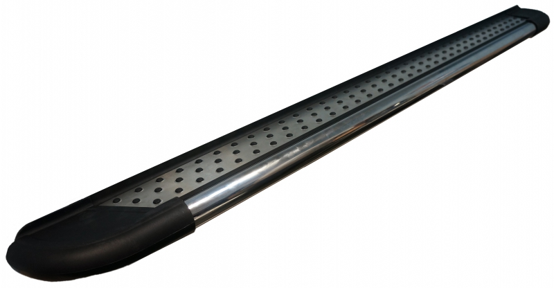 Пороги алюминиевые (Topaz) Kia Sorento (Киа Соренто) (2002-2009), KISO571483