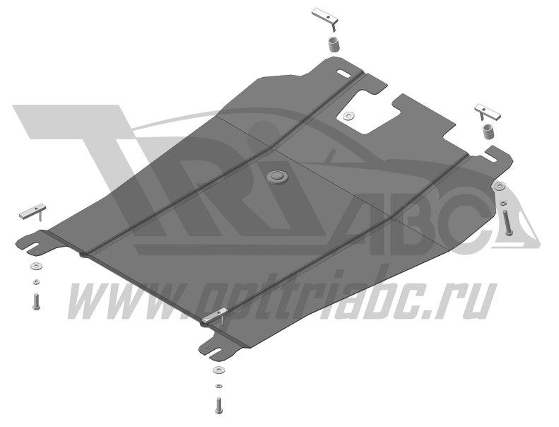 Защита картера двигателя, КПП MMC Outlander XL с 2007, MOTODOR61301