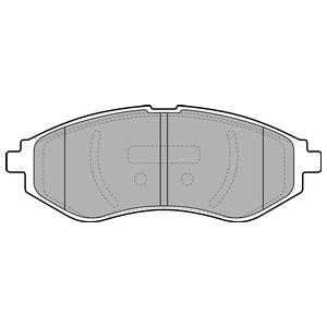 Колодки дисковые, DELPHI, LP1895