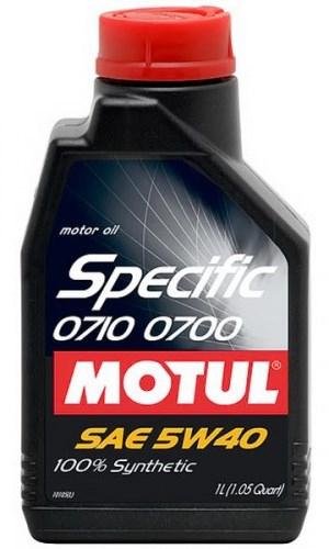 Масло моторное MOTUL Specific 0710-0700, 5W-40, 1л, 102211