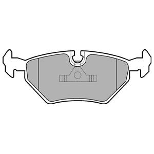 Колодки дисковые, DELPHI, LP555