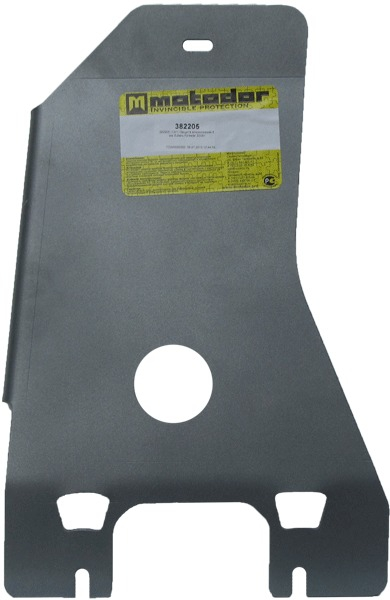 Защита картера КПП Subaru Forester III 2008-2012 V=2,0, 2,5 (алюминий 8 мм), MOTODOR382205