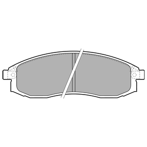 Колодки дисковые, DELPHI, LP1759