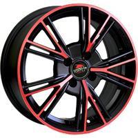 Колесный диск Yokatta MODEL-26 6.5x15/4x98 D67.1 ET35 матовый черный+красный (MB+R)
